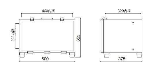 橙色丙烯酸干燥箱A-3型