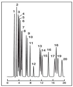 Wakopak Wakosil-PTH氨基酸分析柱(PTH衍生的氨基酸分析柱)