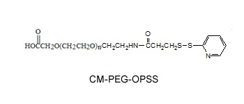 Laysan 羧甲基-聚乙二醇-OPSS Carboxymethyl-PEG-Orthopyridyl Disulfide (CM-PEG-OPSS)