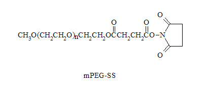 Laysan 甲氧基聚乙二醇SS酯 mPEG-Succinimidyl Succinate (MPEG-SS)