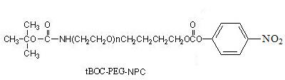 Laysan tBOC-氨基-PEG-对硝基苯基碳酸酯 tBOC-NH-PEG-Nitrophenyl Carbonate