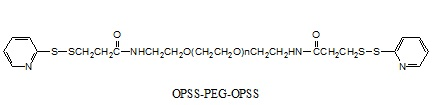 Laysan OPSS-聚乙二醇-OPSS Orthopyridyl Disulfide-PEG-Orthopyridyl Disulfide (OPSS-PEG-OPSS)