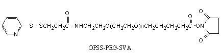 Laysan OPSS-PEG-戊酸琥珀酰亚胺酯 OPSS-PEG-SVA
